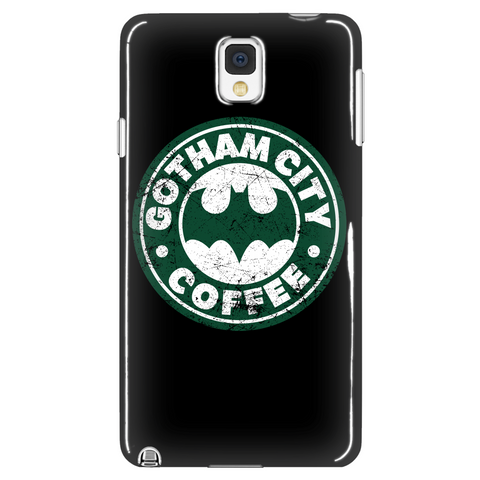 Gotham City Coffee Phone Case LIMITED EDITION - The Nerd Cave - 1