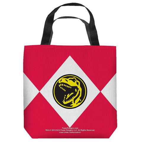 Red Ranger Tote Bag - The Nerd Cave