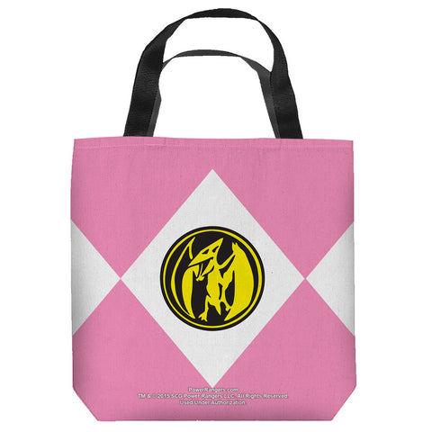 Pink Rangers Tote Bag - The Nerd Cave