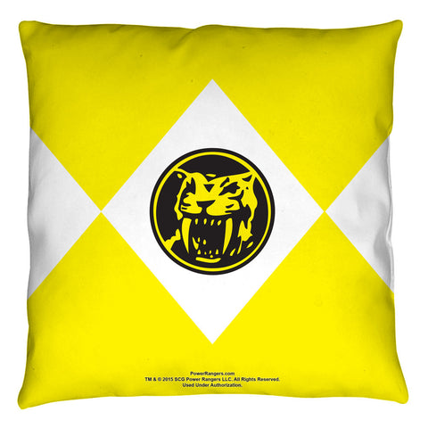 Yellow Ranger Pillow - The Nerd Cave