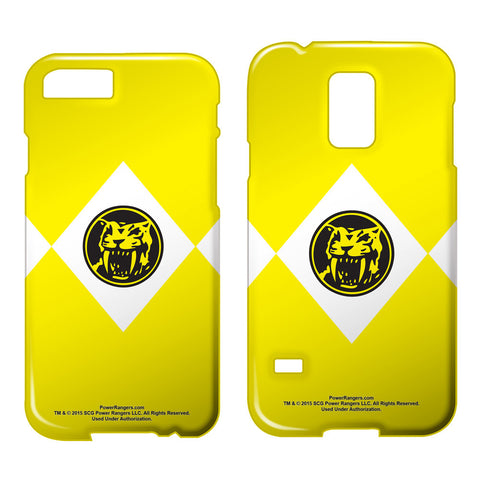 Yellow Ranger Phone Case - The Nerd Cave - 1
