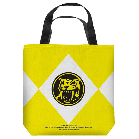 Yellow Ranger Tote Bag - The Nerd Cave