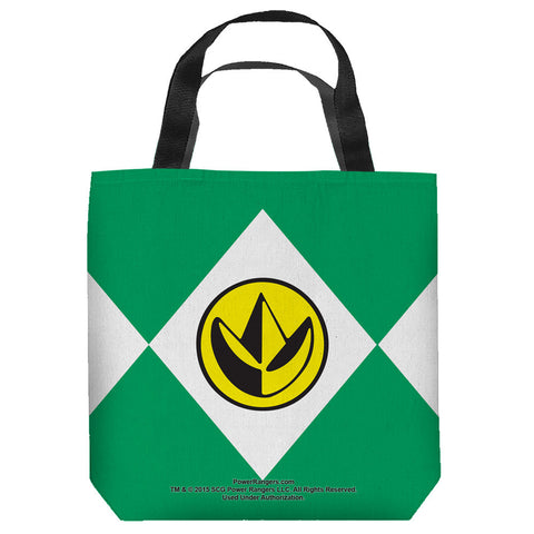 Green Ranger Tote Bag - The Nerd Cave