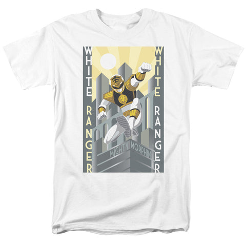 White Ranger Deco - The Nerd Cave - 1