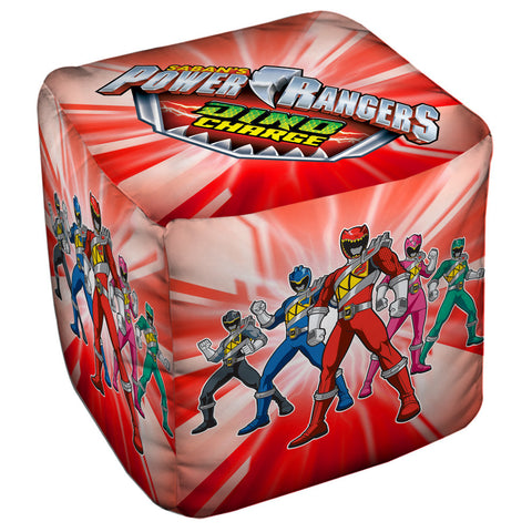 Power Rangers Dino Ranger Cube Ottoman - The Nerd Cave - 1
