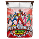 Power Rangers Dino Ranger Duvet Cover - The Nerd Cave - 2