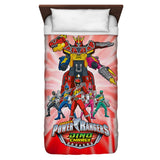 Power Rangers Dino Ranger Duvet Cover - The Nerd Cave - 1