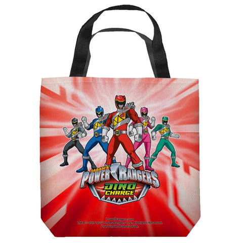 Power Rangers Dino Ranger Tote Bag - The Nerd Cave