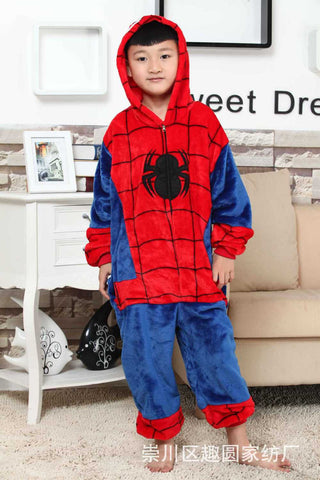 Spider Zipped Onepeice for Kids - The Nerd Cave