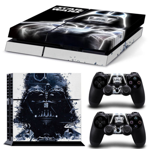 Darth Vader Playstation 4 skin - The Nerd Cave