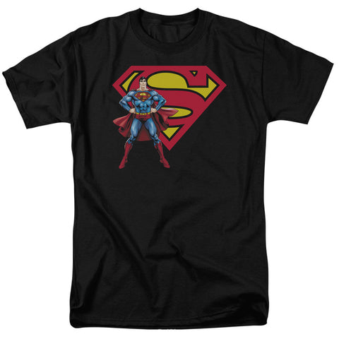 Superman & Logo - The Nerd Cave - 1