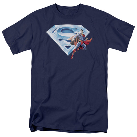 Superman & Crystal Logo - The Nerd Cave - 1