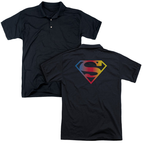 Gradient Superman Logo (Back Print) - The Nerd Cave