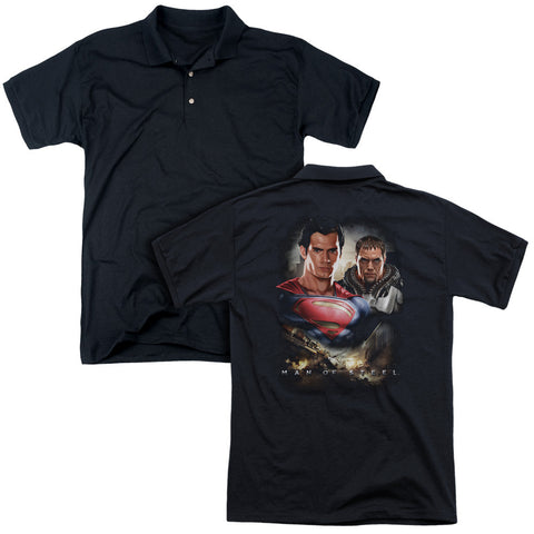 Kal El and Zod (Back Print) - The Nerd Cave
