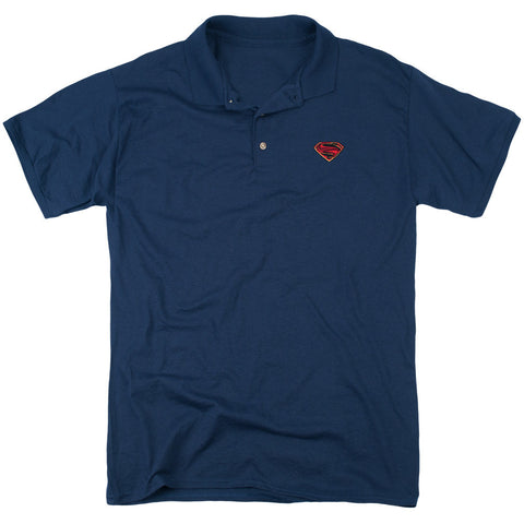 Man of Steel Emblem Polo - The Nerd Cave