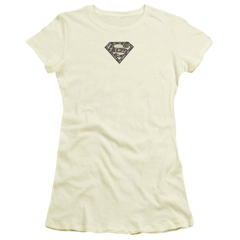Superman Faux Leopard Emblem
