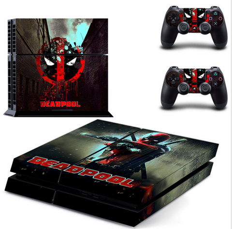 Deadpool Playstation 4 Skin - The Nerd Cave