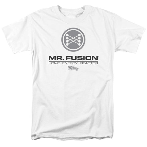 Mr. Fusion Logo - The Nerd Cave - 1
