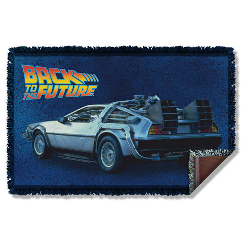 Delorean Woven Throw - The Nerd Cave