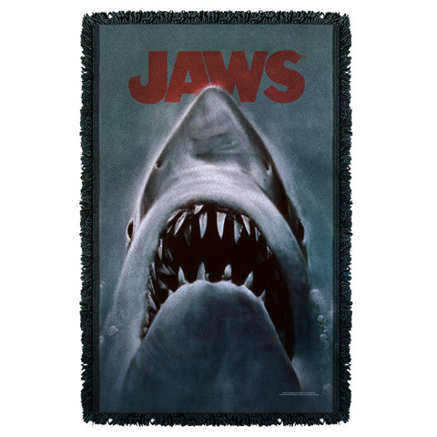 Shark Woven Throw - The Nerd Cave