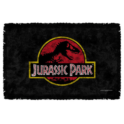 Classic Logo Woven Throw - The Nerd Cave