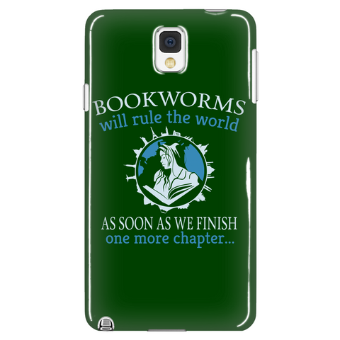 Bookworms Will Rule The World Phone Case LIMITED EDITION - The Nerd Cave - 1