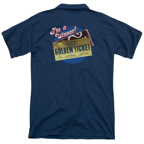 Golden Ticket (Back Print) - The Nerd Cave