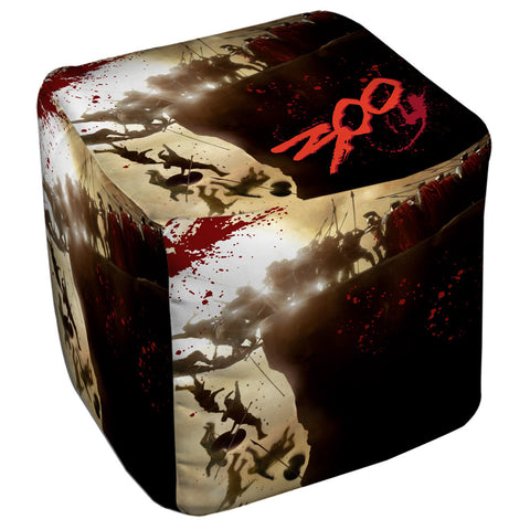 Cliff Cube Ottoman - The Nerd Cave - 1