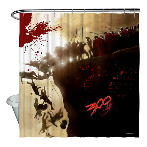 Cliff Shower Curtain - The Nerd Cave