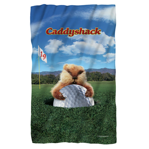 Gopher Fleece Blanket - The Nerd Cave
