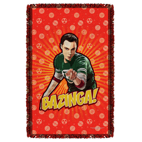 Bazinga Woven Throw