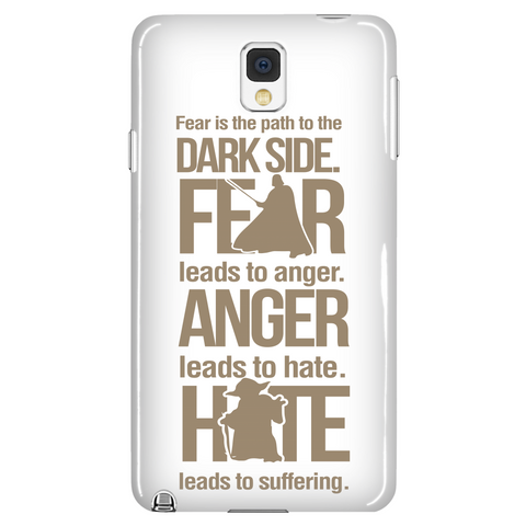 Fear Is The Path To The Dark Side Phone Case LIMITED EDITION  - The Nerd Cave - 1