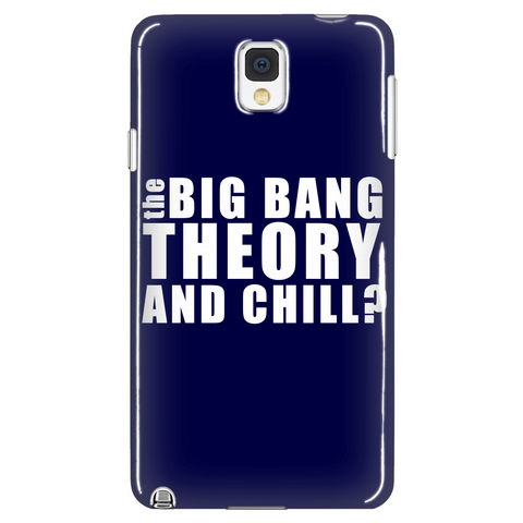 Big Theory And Chill Phone Case LIMITED EDITION - The Nerd Cave - 1