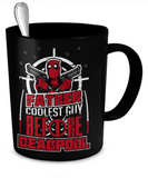 DeadPool - Father Coolest Guy Mug - The Nerd Cave - 2