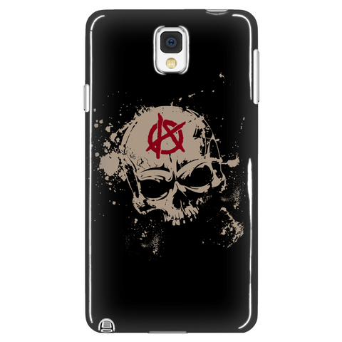 Skull Of Anarchy Phone Case LIMITED EDITION - The Nerd Cave - 1
