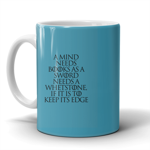 A Mind Needs Books Mug LIMITED EDITION - The Nerd Cave - 1