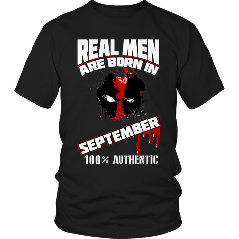 Real Men Are Born In September LIMITED EDITION - The Nerd Cave - 1
