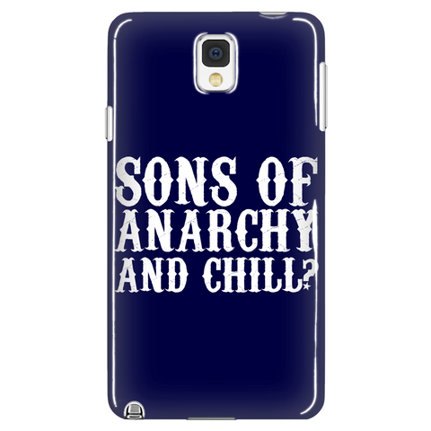 Anarchy And Chill Phone Case LIMITED EDITION - The Nerd Cave - 1