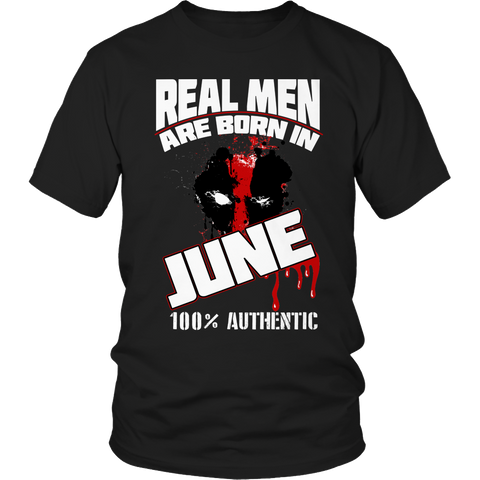 Real Men Are Born In June LIMITED EDITION - The Nerd Cave - 1