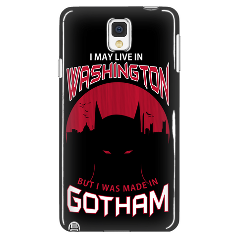 I May Live In Washington But I Was Made In Gotham Phone Case LIMITED EDITION - The Nerd Cave - 1