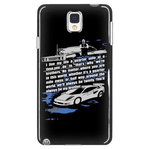 Quarter Mile At A Time Phone Case LIMITED EDITION - The Nerd Cave - 1