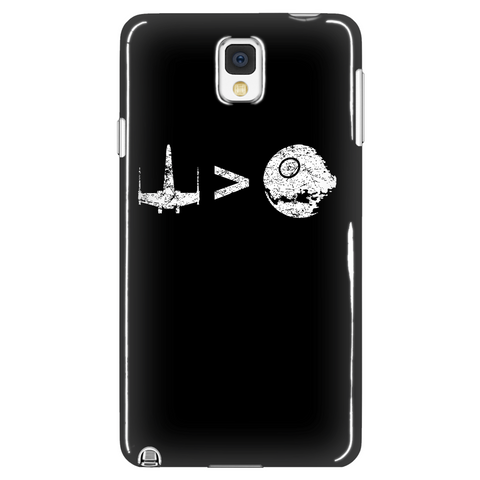 Fighter Beats Death Star Phone Case LIMITED EDITION - The Nerd Cave - 1