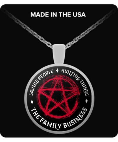 Family Business Necklace - The Nerd Cave - 1