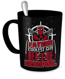 DeadPool - Father Coolest Guy Mug - The Nerd Cave - 1