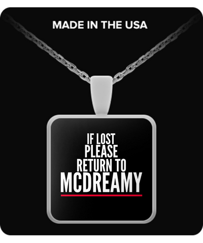 MCDREAMY Necklace LIMITED EDITION - The Nerd Cave - 1