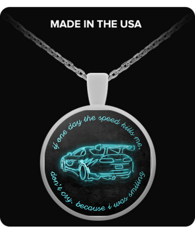 I Was Smiling Necklace LIMITED EDITION - The Nerd Cave