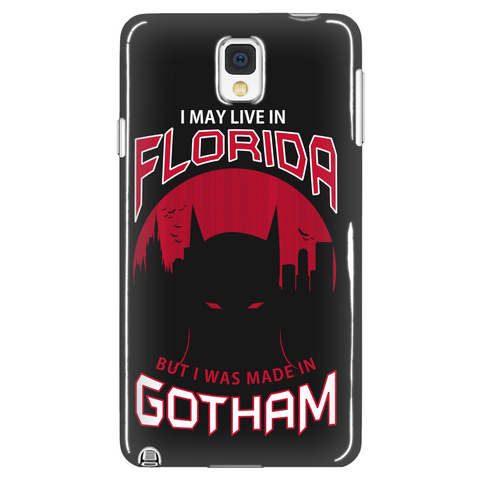 I May Live In Florida But I Was Made In Gotham Phone Case LIMITED EDITION - The Nerd Cave - 1