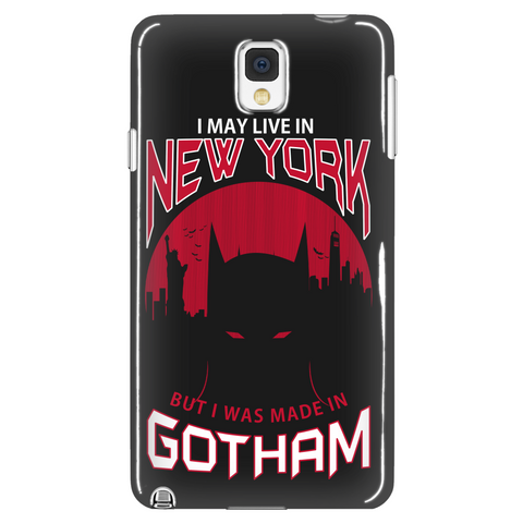 I May Live In New York But I Was Made In Gotham Phone Case LIMITED EDITION - The Nerd Cave - 1