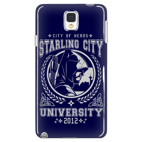 Starling City University Phone Case LIMITED EDITION - The Nerd Cave - 1