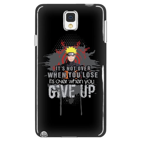 It's Not Over When You Lose Phone Case LIMITED EDITION - The Nerd Cave - 1